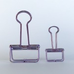 Purple Binder Clip