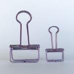 Purple Binder Clip