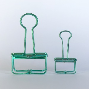 Turquoise Binder Clip