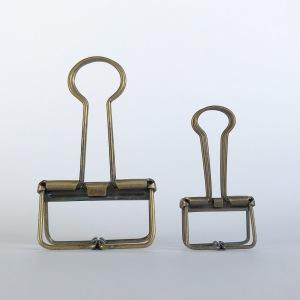 Brass Binder Clip