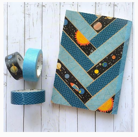 Washi Tape Book Covers