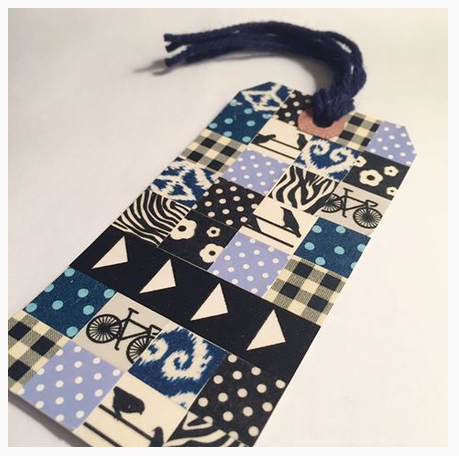 Washi Tape Bookmark