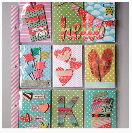 Greeting Cards with Washi Tape