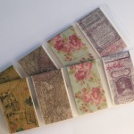 Vintage Style Washi Tape Samples