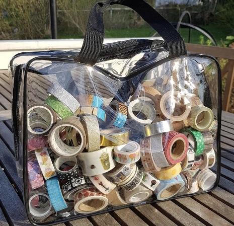 Clear Washi Bag