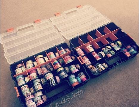 Washi Hardware Box