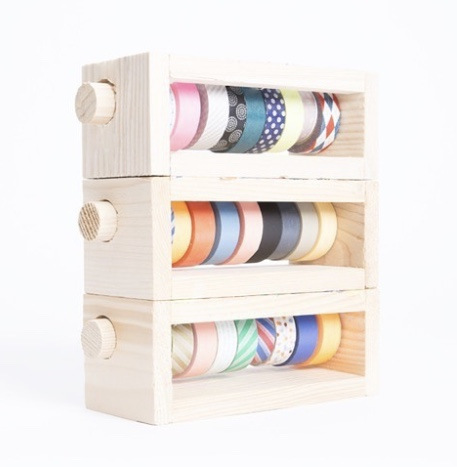 Wooden Washi Dispenser