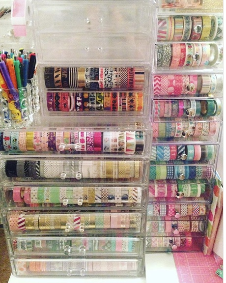 Washi Clear Drawers
