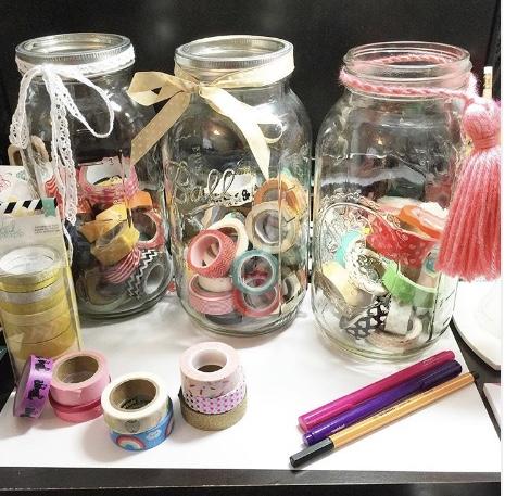Washi Jars