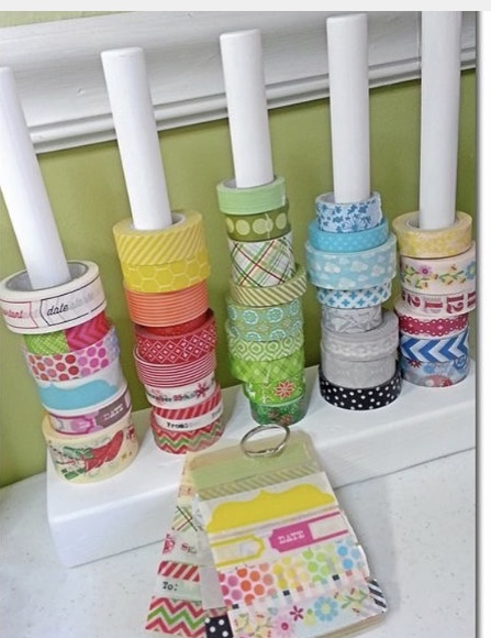 Washi Vertical Rods
