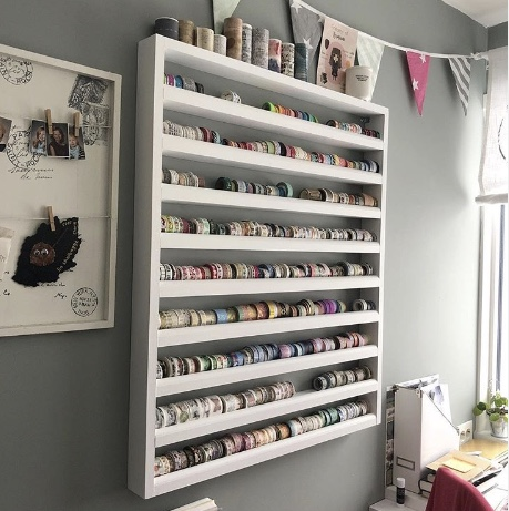 Washi White Shelf