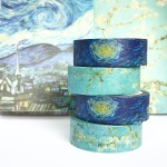 Van Gogh Starry Night and Almond Blossom Washi Tape