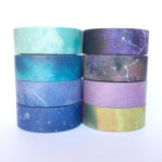 Galaxy washi tape - supernova, sky, clouds, universe, planetary