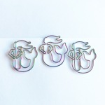 Rainbow mermaid paperclips - under the sea, ocean, the little mermaid
