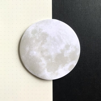 Moon Sticky Notes
